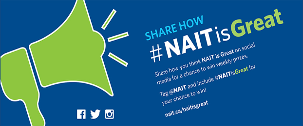 NAIT IS GREAT Banner